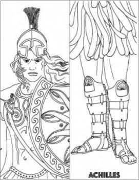 GREEK MYTHOLOGY Activities — *TRIPLE* BUNDLE: Gods, Heroes