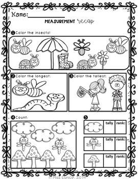 SPRING Bundle: Spring Math Worksheets for Kindergarten