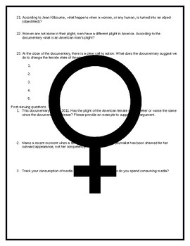 Gender Study: Miss Representation (2011) Viewing Guide by
