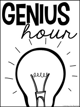 Genius Hour Classroom Materials (Teacher & Student