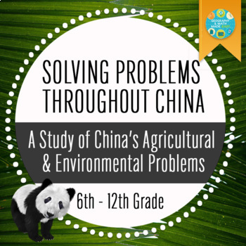 Geography: Solving Problems Throughout China by Geography