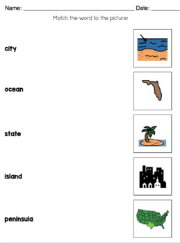 Geography Unit for Children with Special Needs! by The