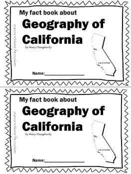 Geography of California-NonFiction Reader by Mary