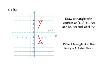 Geometry 8 (Transformations: Reflection, Translation
