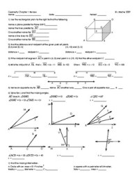 Geometry Review Worksheets - resultinfos