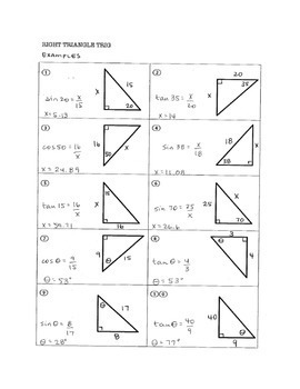 Geometry Right Triangle Bundle (includes Pythagorean