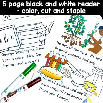 George Washington Carver Peanut Butter Jar craft and