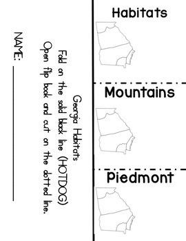 3rd Science Georgia Habitats Bundle: Piedmont, Mountains