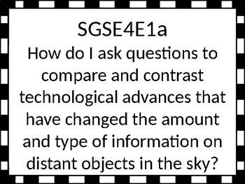 Georgia Performance Standards Essential Questions
