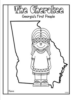 Georgia's First People: The Cherokee by Classroom