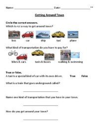 Daily Living Skills Worksheets - Kidz Activities