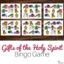Gifts Of The Holy Spirit Bingo Game No Prep Catholic