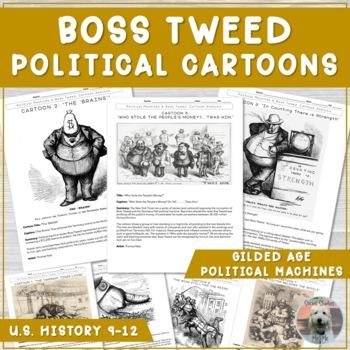 Political Cartoon Analysis The Gilded Age Answer Key