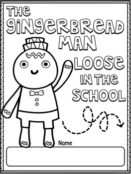 Gingerbread Man Loose in the School by Laura Murray ~ Book