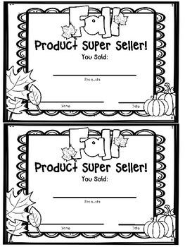 Girl Scout Fall Product Certificate-Freebie! by Salandra