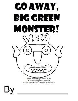 Go Away Big Green Monster Adapted Book by Autism Speech