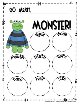 Go Away Big Green Monster Pdf : green, monster, Away,, Green, Monster!, Story, Frame, Sailing, Through, Grade