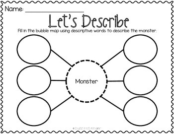 Go Away Big Green Monster : Text Based Writing by Buzz