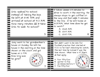 Go Math! 3rd Grade Chapter 10 Time, Length, Liquid Volume