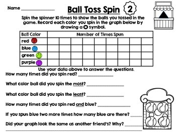 Go Math Grade 1 Chapter 10 centers-graphing by Apple Of