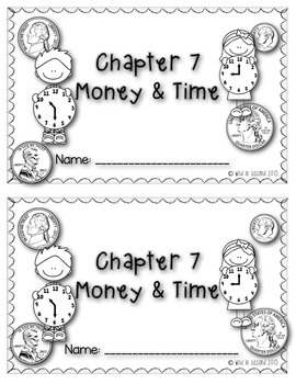 Go Math Chapter 7 Math Journal Grade 2 by Wild in Second