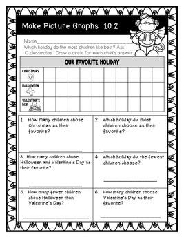 Go Math! First Grade Chapter 10 Supplemental Resources