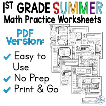 Summer School Math 1st Grade End of the Year CC & TEKS