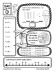 End of Year Math Review Summer Practice FREEBIE Preview by