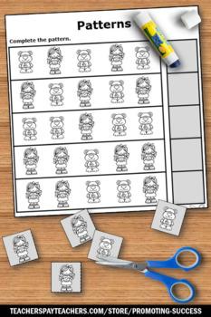 Goldilocks and the Three Bears Math, No Prep Kindergarten