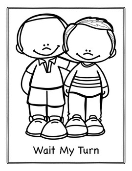 Making Good Choices Pages Coloring Pages