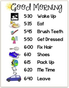 Good morning routine chart schedule editable also by data driven designs rh teacherspayteachers