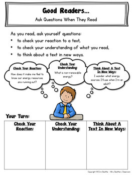 Reading Comprehension Strategies Mini Lessons by Mrs