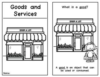 {Goods and Services} Emergent Reader Economics Social