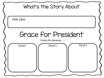 Grace for President ~ 35 pgs Common Core Activities by Fun