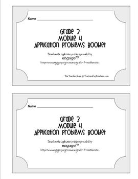 Grade 3 Math Module 4 Application Problems Booklet by The