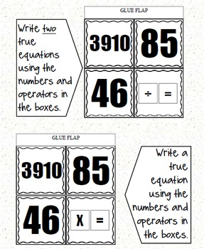 Grade 5 Common Core Interactive Notebook Number and