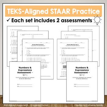 5th Grade Math STAAR Practice Set 3: Decimals by Catherine
