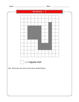 Grade 6 Common Core: Geometry Math Worksheet 1.4 by The