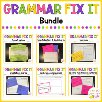 Grammar Fix It -  BUNDLE
