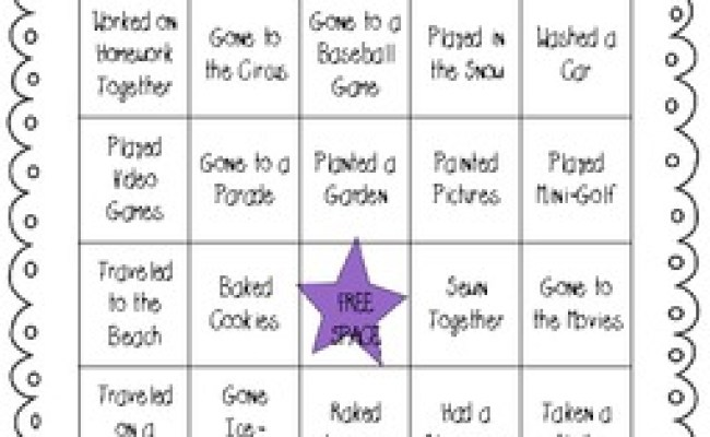 Grandparent S Day Or Special Person S Day Bingo By Meagan