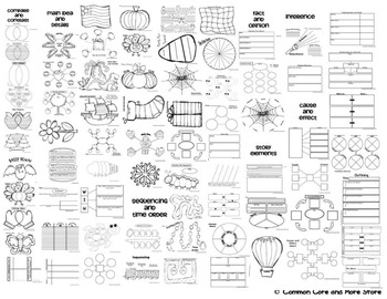 Graphic Organizers super set binder {Reading Response
