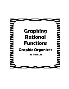 Graphing Rational Functions Graphic Organizer by The Math