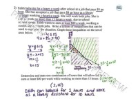 Graphing Systems Of Linear Inequalities Word Problems