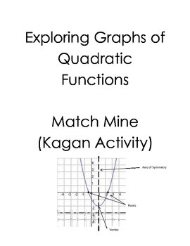 Graphs of Quadratic Functions Match Mine (Kagan) by Holly