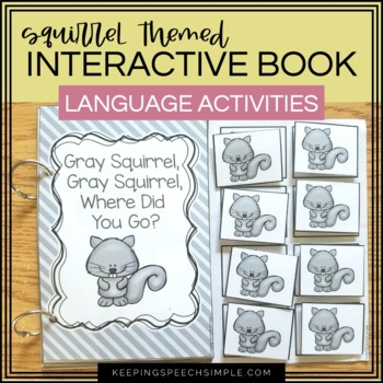 fall themed interactive book