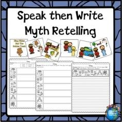 Speak then Write Myth Retelling