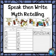 Speak then Write Myth Retelling