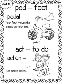 Greek and Latin Word Parts for Younger Students by The