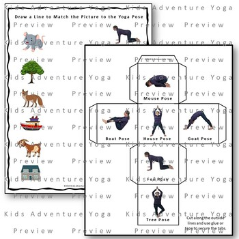 Green Eggs and Ham Kids Yoga Campanion Guide by Kids