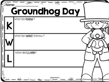 The Art Of Teaching A Kindergarten Blog Groundhog Day